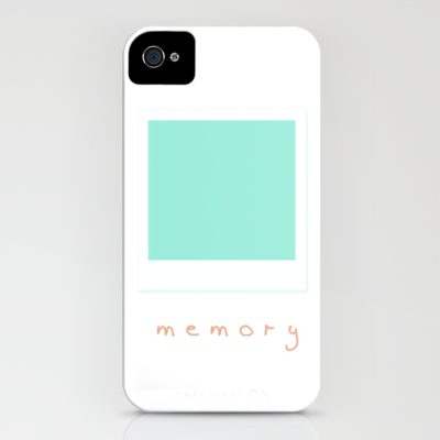 memory iPhone Case by Alison Kim - $35.00