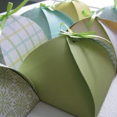 Petal Gift Boxes {Gift Wrapping Template} Wedding Pinterest