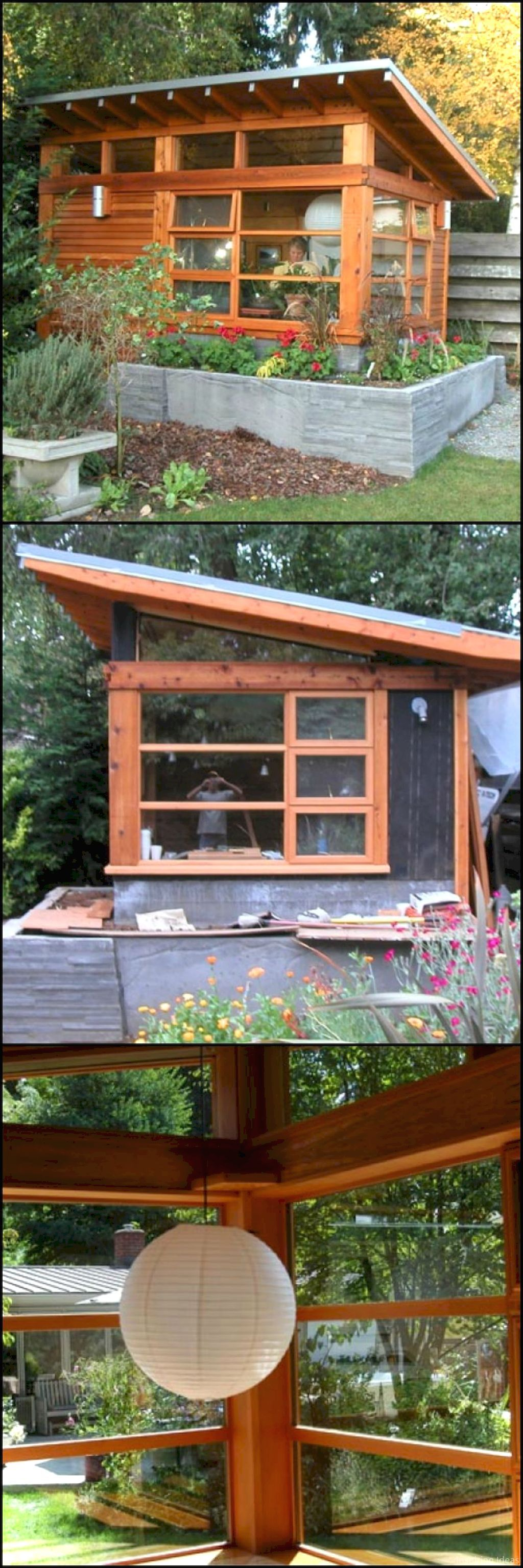 A lifestyle shed for my backyard office is my future vision Fully