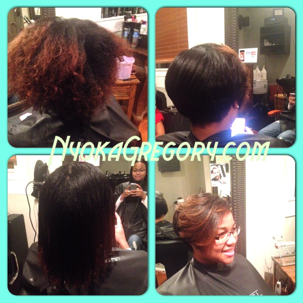 From Natural To Relaxed Using Paul Mitchell Products My Client Was