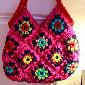 crochet: Love this! Bright colors and all!