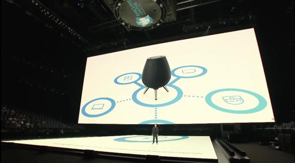 سامسونج تطور مساعد بيكسبي منزلي رخيص Galaxy Smartwatch Samsung Smart Speaker