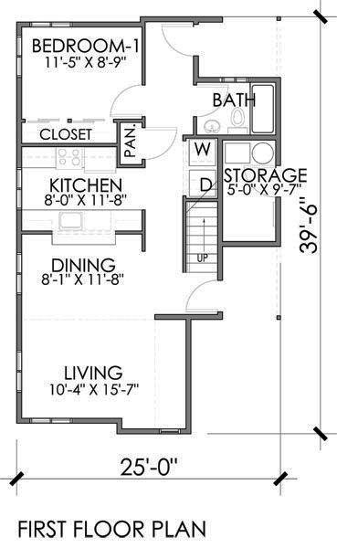 Plano planta baja   planos para casas   Pinterest   Dos pisos, Metro ...