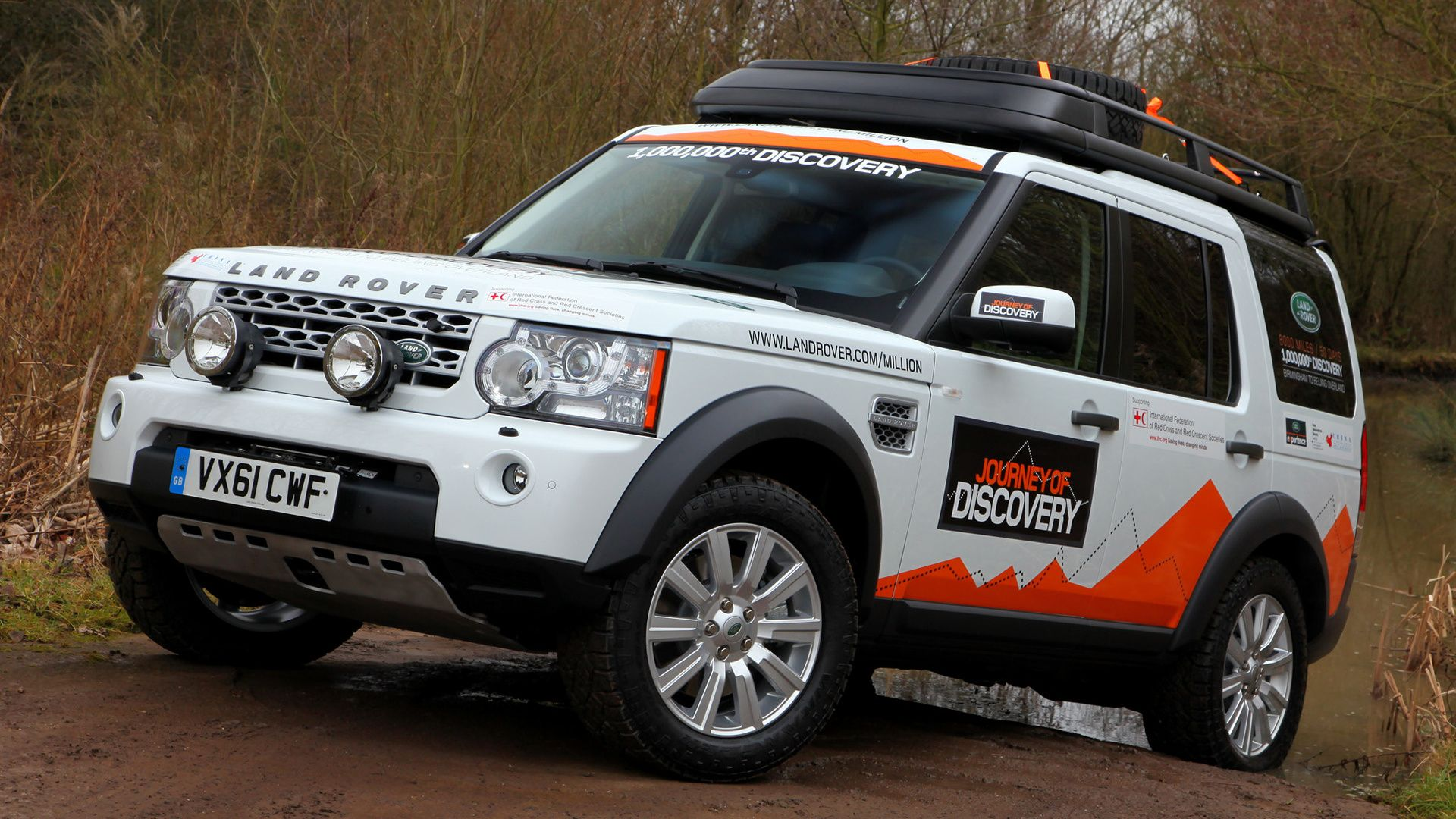 Land Rover Discovery 4 Expedition Vehicle Wallpaper Hd