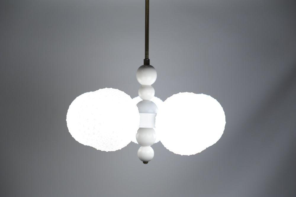 60s 70s rare 6x ball kalmar crystal glass plastic chandelier ceiling 60s 70s rare 6x ball kalmar crystal glass plastic chandelier ceiling lamp light aloadofball Images