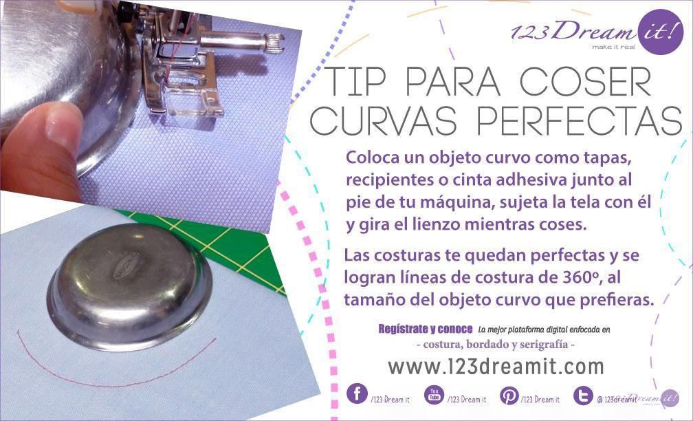 Les compartimos este práctico consejo para coser curvas perfectas ...