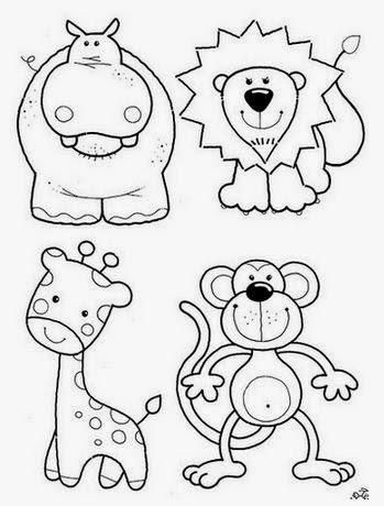 Moldes de animalitos para apliques en ropa de niños   BB   Pinterest ...