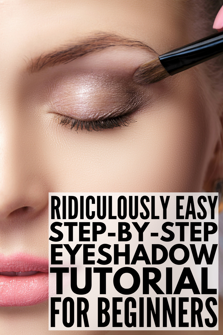 [ridiculously easy] stepbystep eyeshadow tutorial for