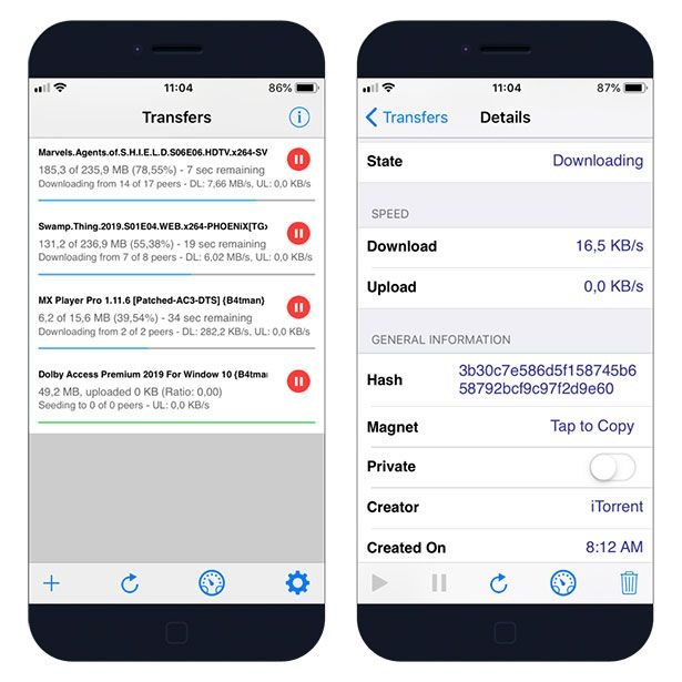 iTransmission - download the app on iOS without Jailbreak   Jailbreak