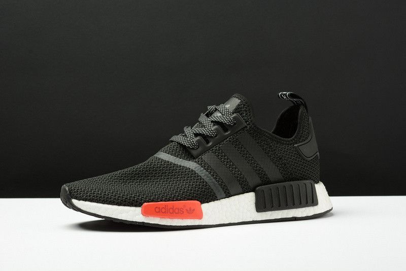 adidas shoes mens gray adidas nmd r1 primeknit japan triple black footlocker