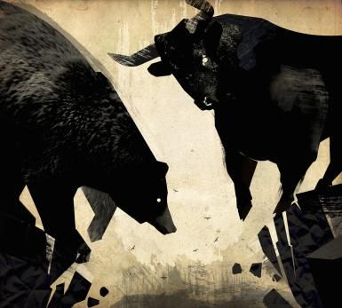5 Ways to Know When to Sell: Bull and Bear Fight