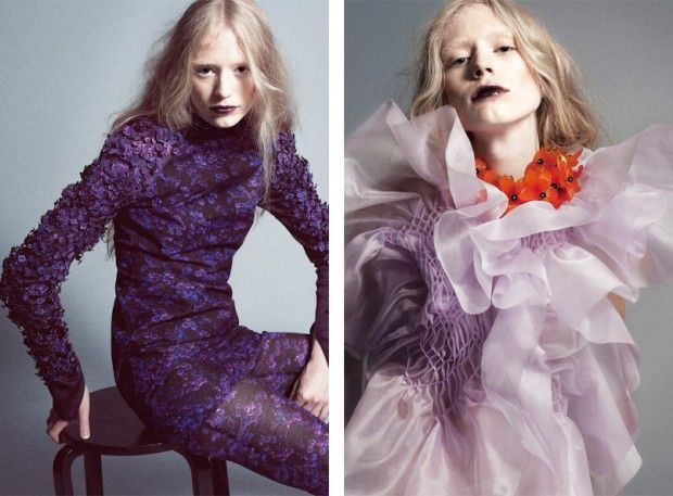 Lina Michal - Winner MUUSE x VOGUE Talents 2013
