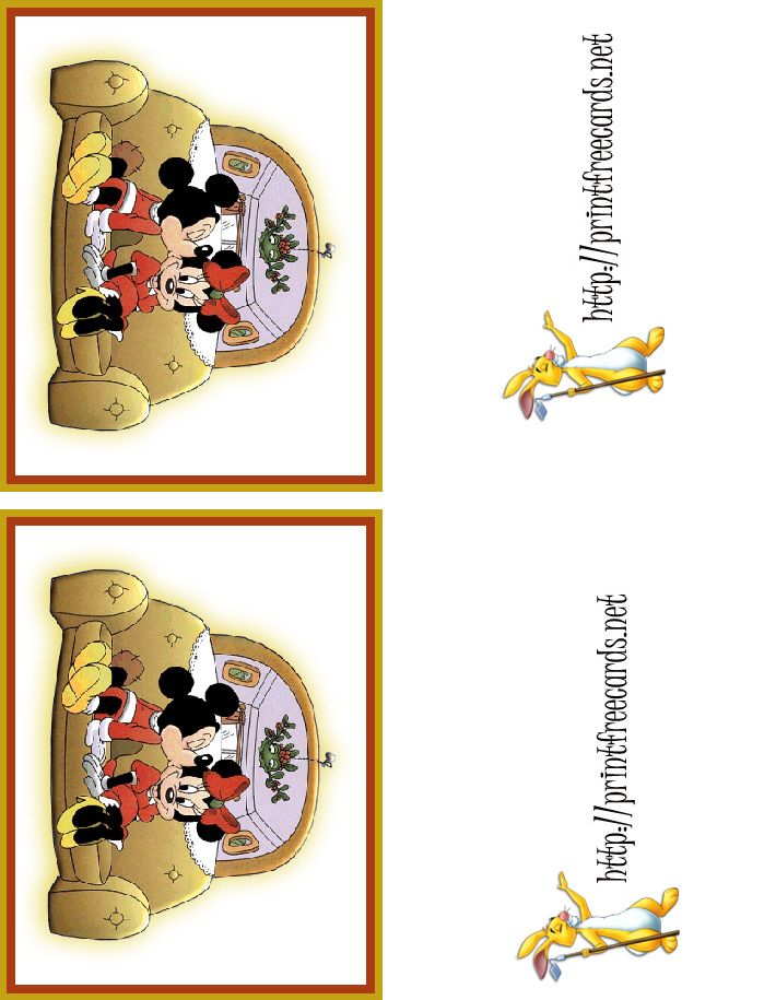 Disney Christmas Cards.Free Printable Christmas Cards Free Thank You Cards Free