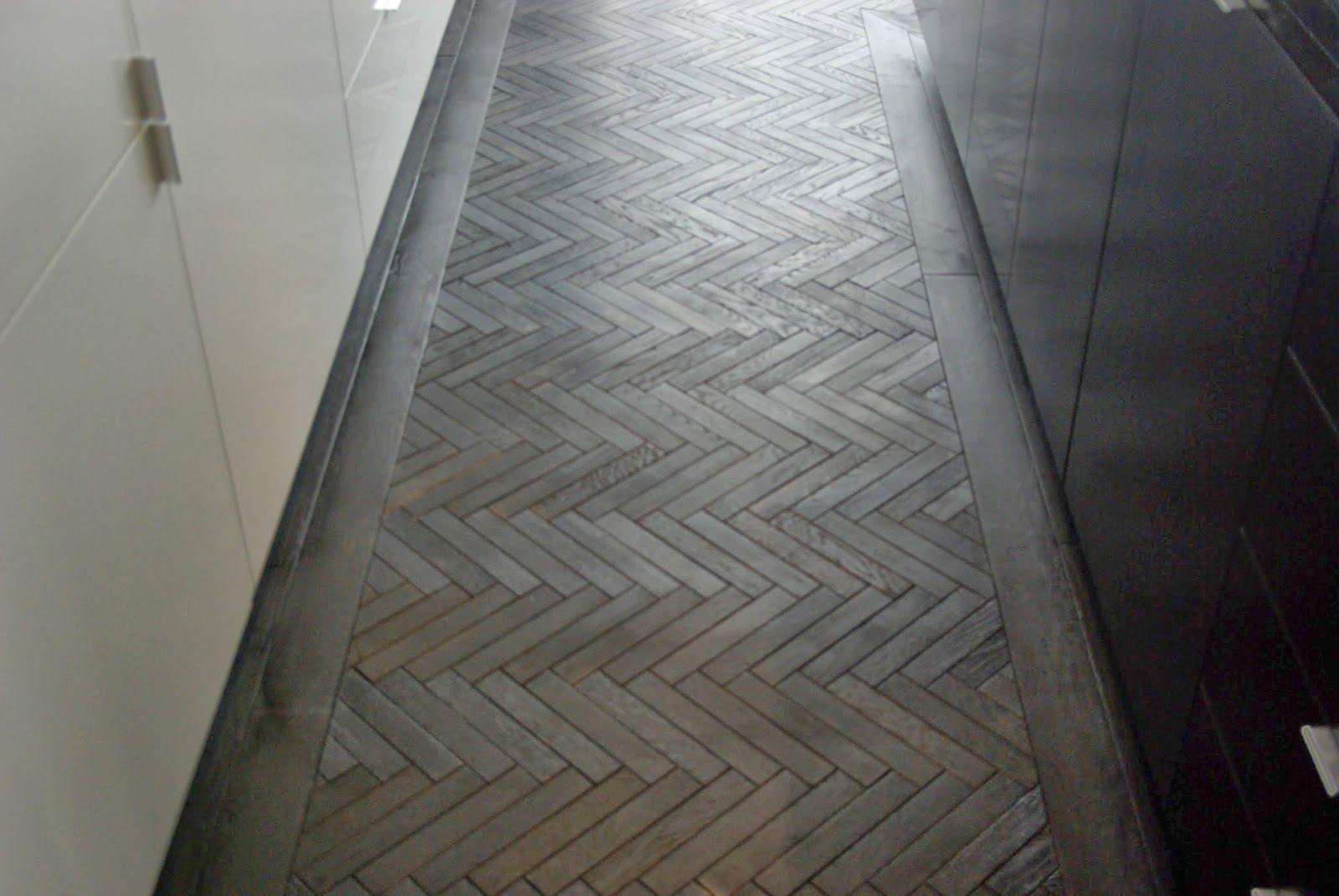Black Herringbone Parquet Renaissance Parquet Flooring