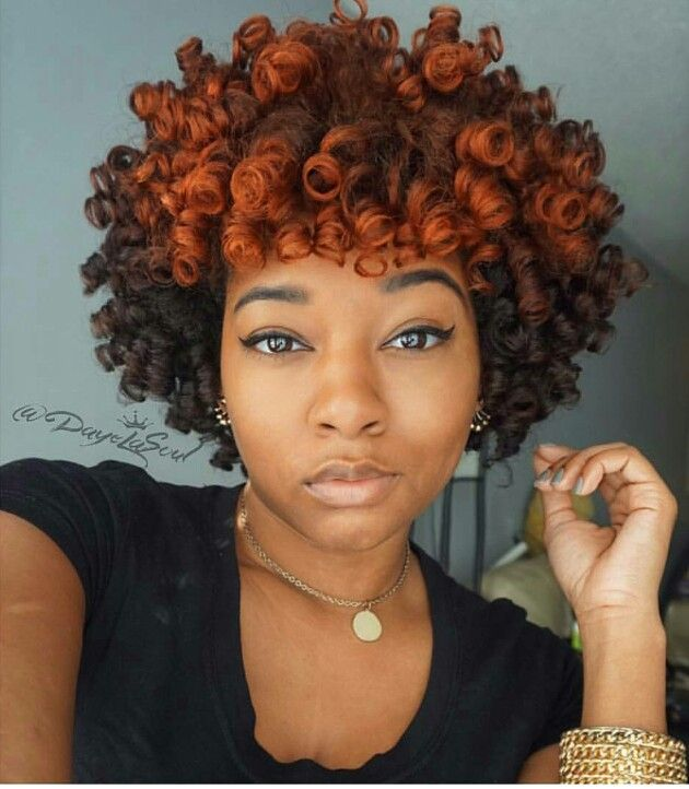 Spiral Curls On Point Natural Hair Styles Beautiful Natural Hair Dyed Natural Hair