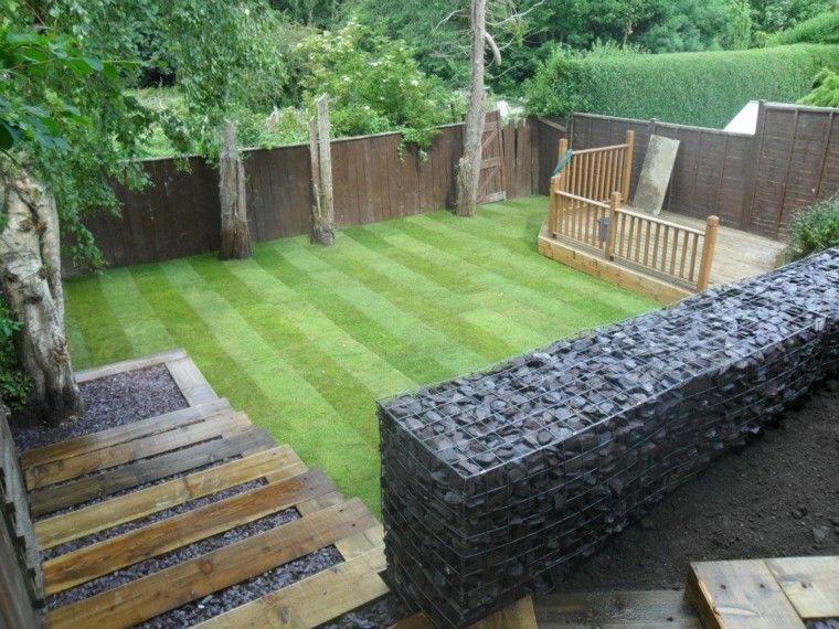 diseo minimalista para jardines pequeos