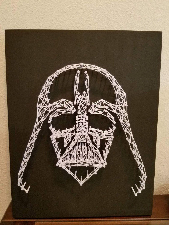 String Art, Star Wars, Darth Vader, Wall Decor by ...