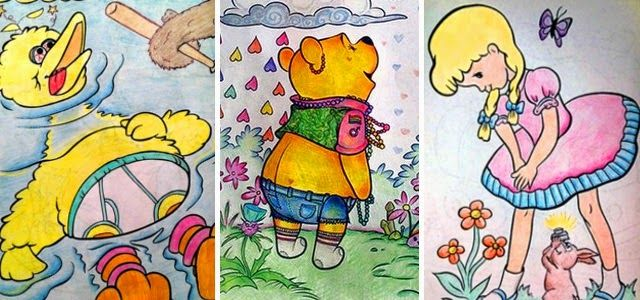 Motivos pelos quais os adultos não devem colorir livros infantis (41 Imagens) | Hipernovas