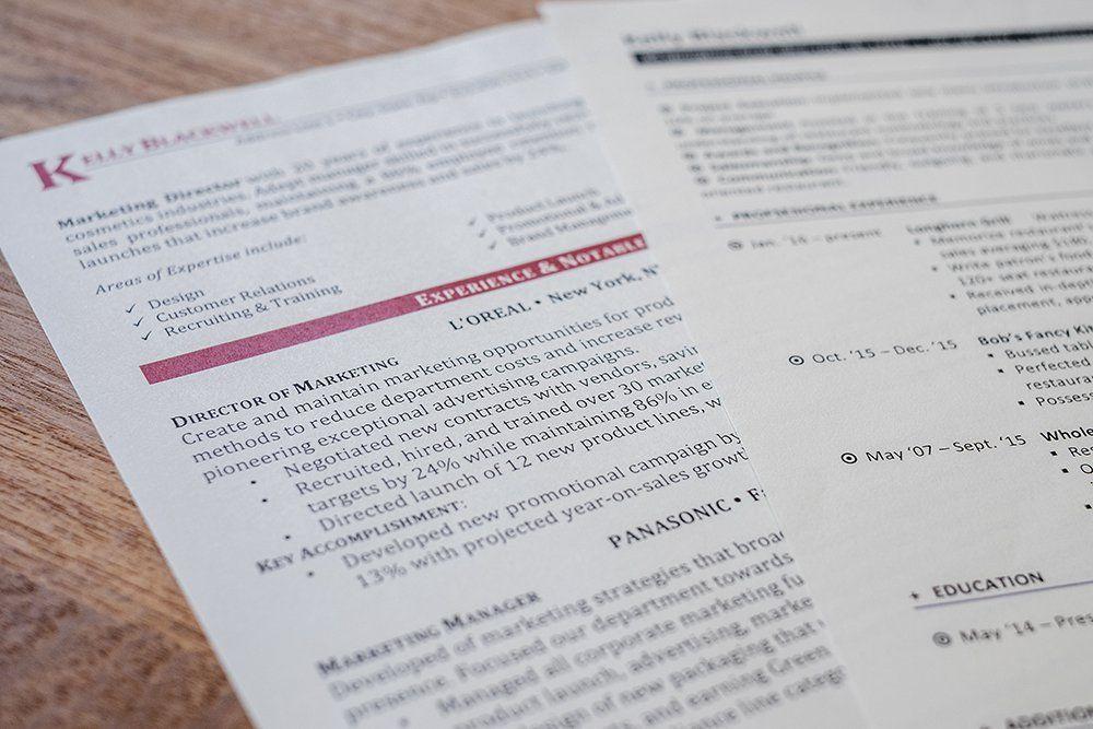 Resume Paper Comparison Resume Genius Best Resume Resume