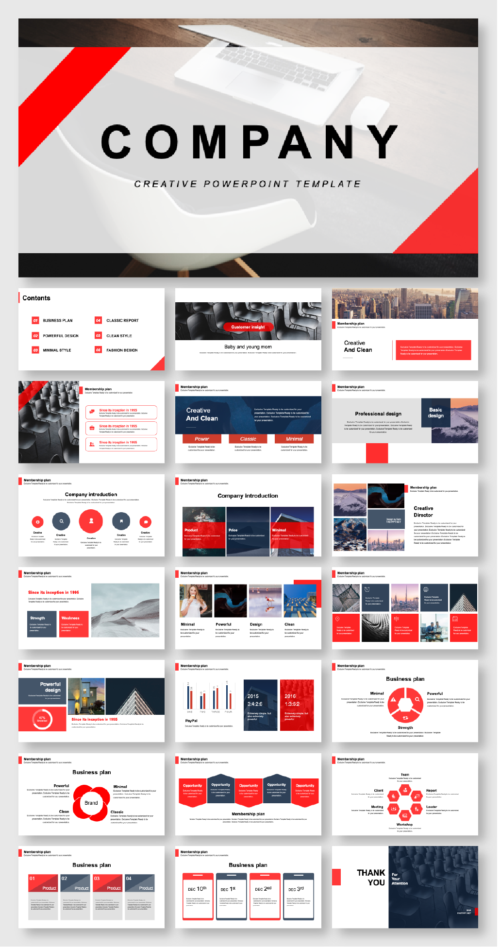 Beautiful Business Creative Report Presentation Template Original And High Quality Powerpoint Templates Presentation Design Template Powerpoint Design Templates Presentation Slides Design