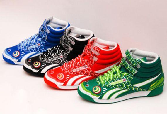 Reebok Freestyle - Koi Nobori Pack - SneakerNews.com  1ac214b05a