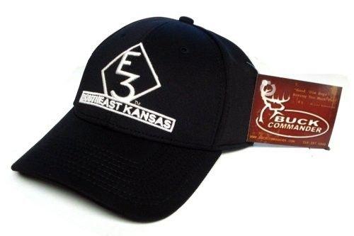 Buck Commander E3 Southeast Kansas Black Ranch Hat Cap Hunting Luke