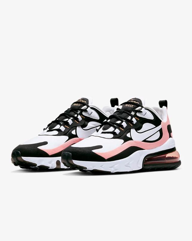 Nike Air Max 270 React en 2020 | Zapatillas mujer, Zapatos ...