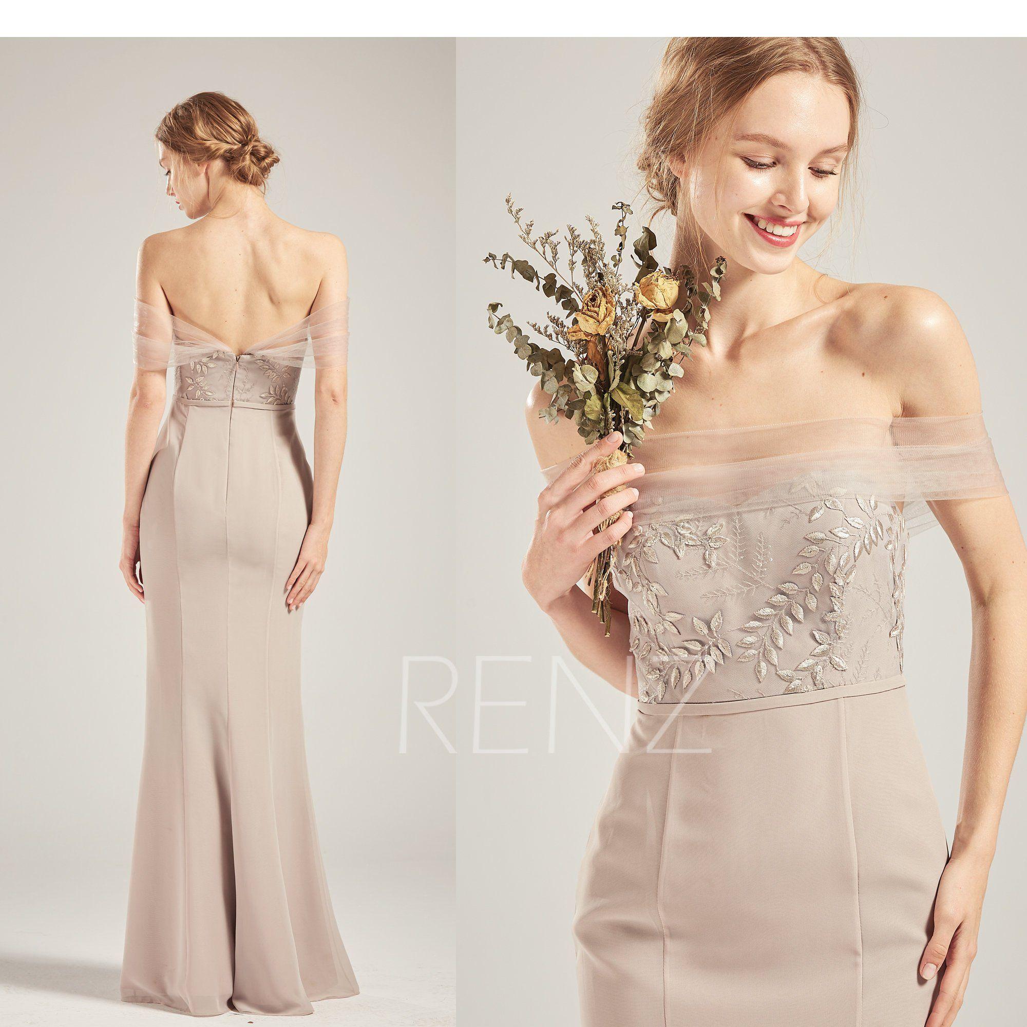 38++ Taupe wedding dress etsy information
