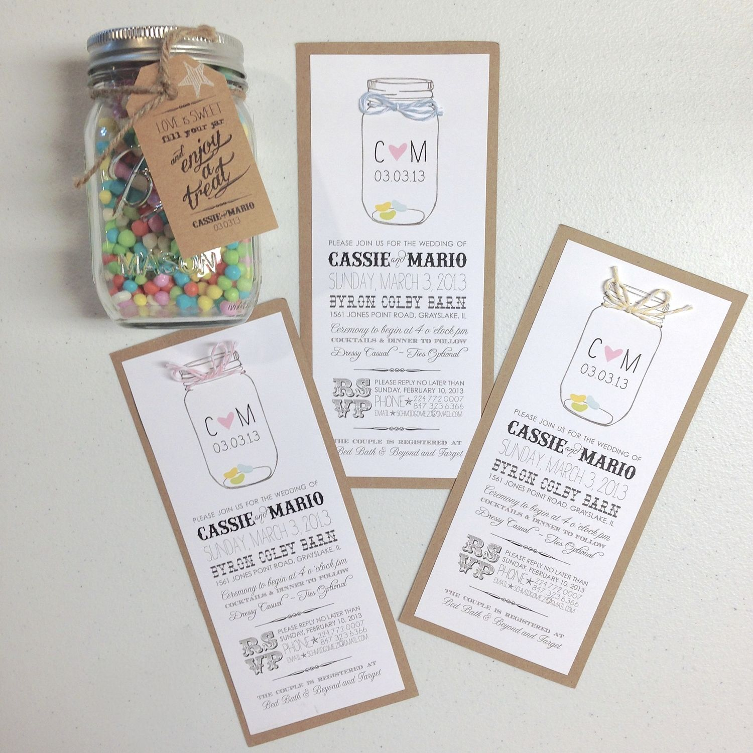 Candy themed wedding invitations   Terlie Products   Pinterest ...