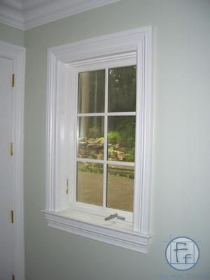 Window Trim Amazing website for wainscotting, window trims, mantels ...