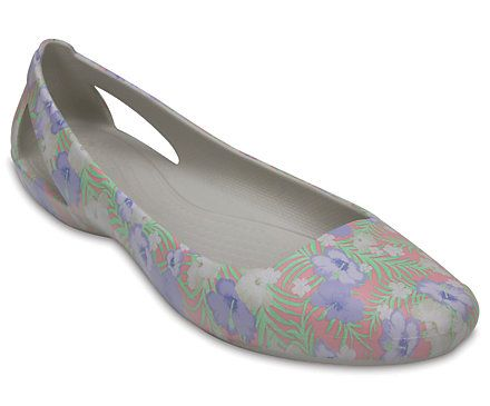 Crocs Sienna Graphic Flat