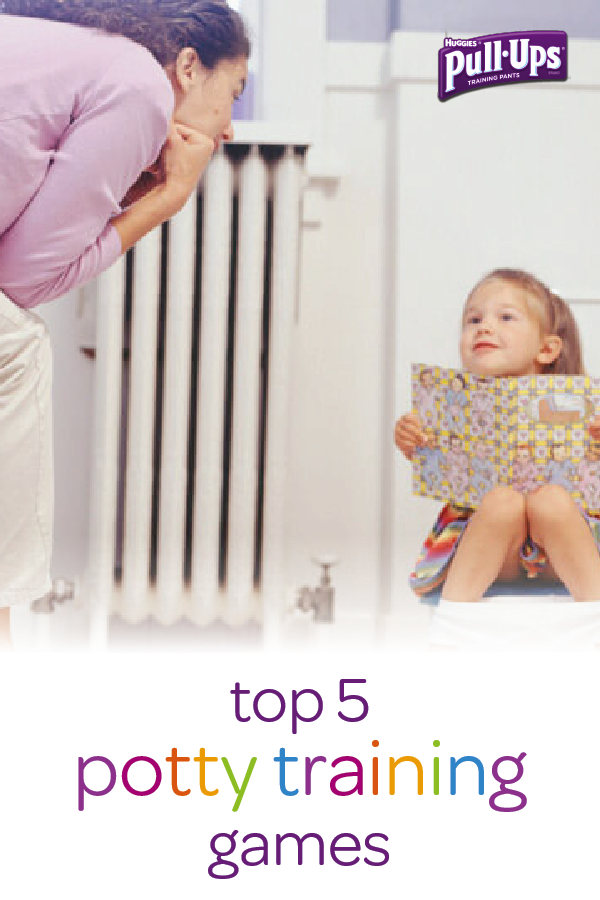 Make your toddler's potty training experience a fun one with these five easy potty games from Pull-Ups. Try building a DIY bathroom puzzle or playing potty seek and find to help your child get excited to use the potty all on her own. As with any big developmental milestone, it's important to keep your little one motivated with a combination of work and play.