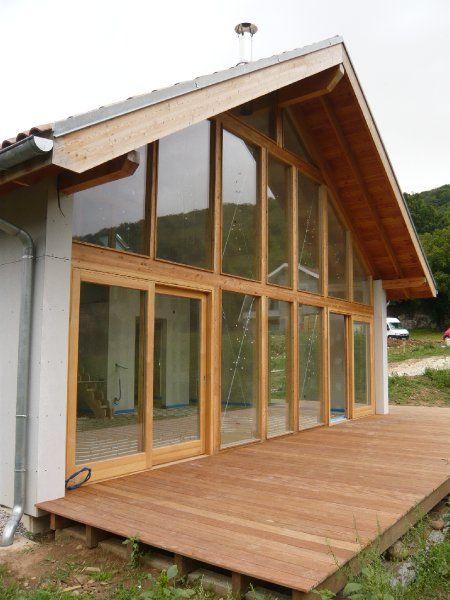 exterieur-maison-basse-energie будинок мрii Pinterest