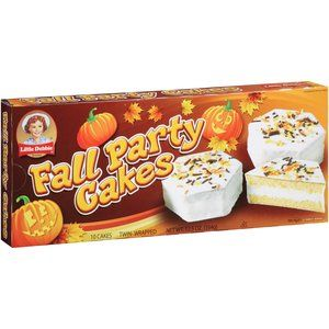Little Debbie Family Pack Fall Party Cakes Vanilla Snack Cakes 12 75 Oz Walmart Com Debbie Snacks Party Cakes Snack Cake