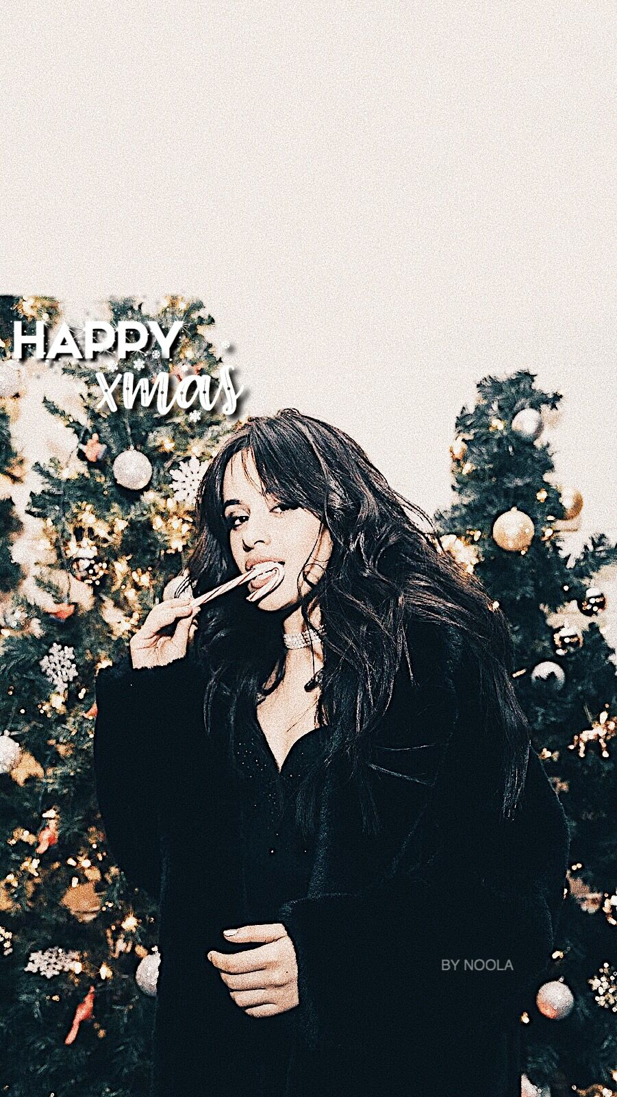 Camila Cabello Christmas Iphone Wallpaper Wallpaper Iphone Christmas Camila Cabello Christmas Lockscreen