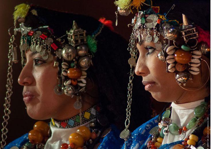 Africa   Dancers at the Ahwach Festival. Ouarzazate, Morocco 2012   ©Abdellah Azizi
