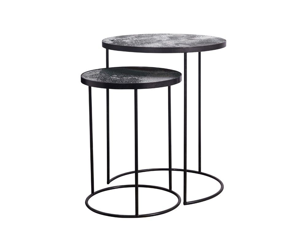 Round Nesting Side Table Set | No. 9 | Pinterest | Nest