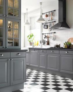 Best Ikea Lidingo Grey Kitchen Another Example Of Grey Kitchen 640 x 480