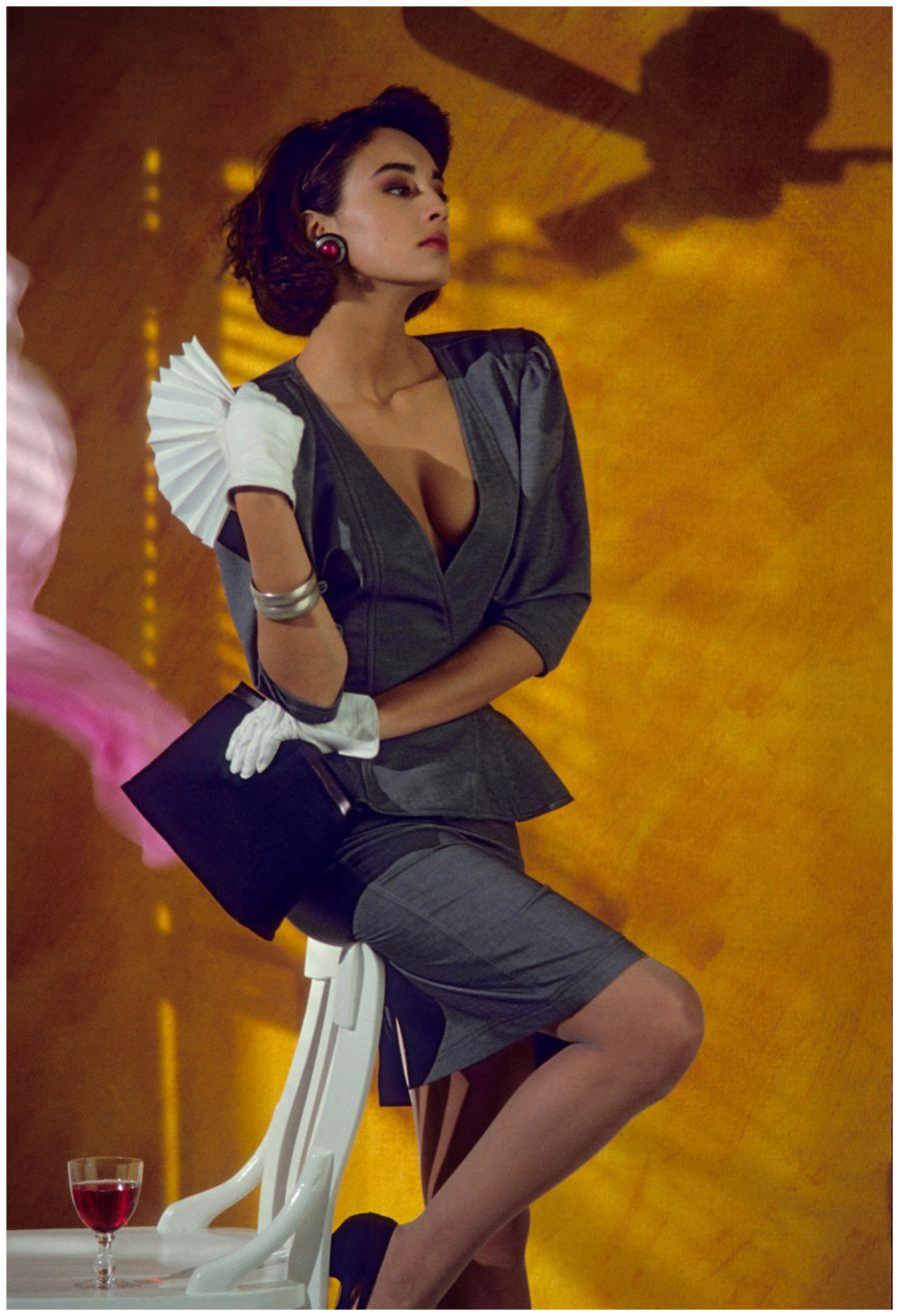 1985, Paris, for Figaro Madame (b)Frank Horvat