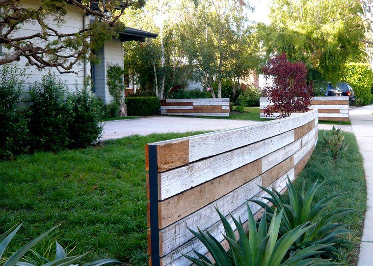 Idea For Front Yard Divider Garden Design Fence Landscaping