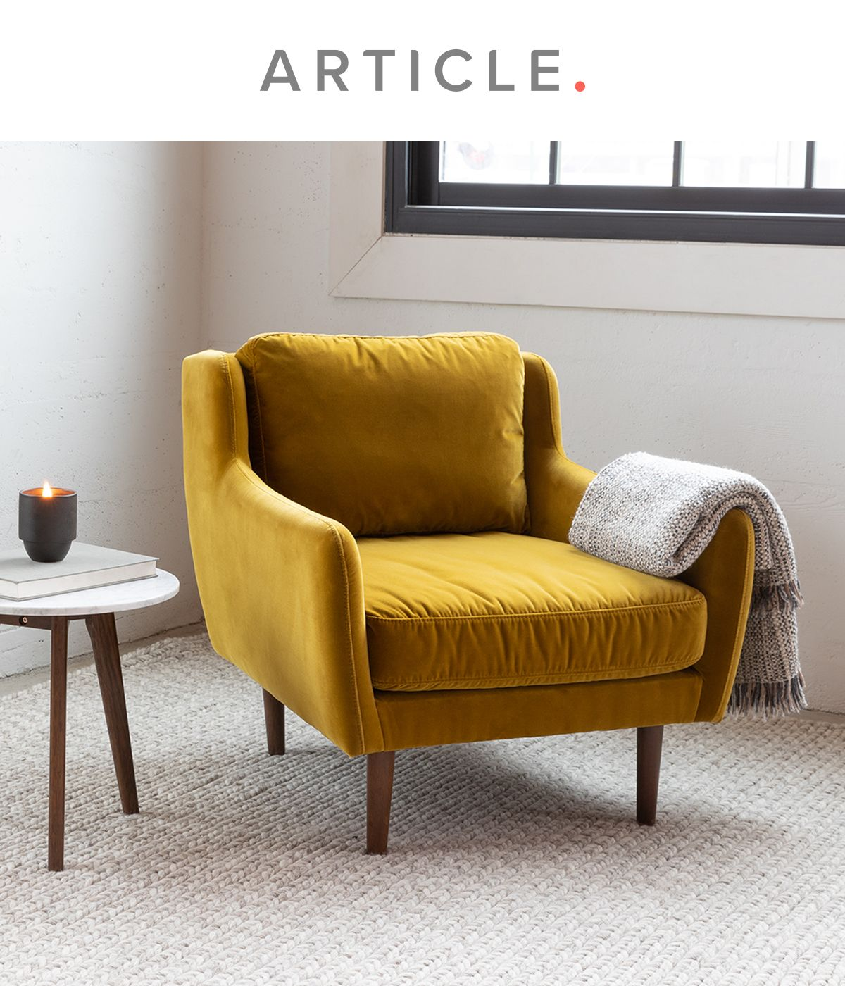 Matrix Yarrow Gold Chair In 2020 Yellow Accent Chairs Living
