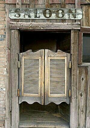 Saloons have swing doors. We need a swing door; could be set up at main entrance or at either auditorium entrance. Need easily (dis)assembled frame ... & Saloon \u2026 | Country \u0026 Western Bars | Pinterest | Westerns Bar and ... Pezcame.Com