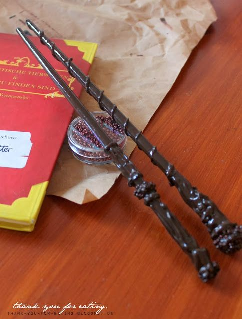 Halloween Diy Harry Potter Zauberstäbe Hp Harry Potter