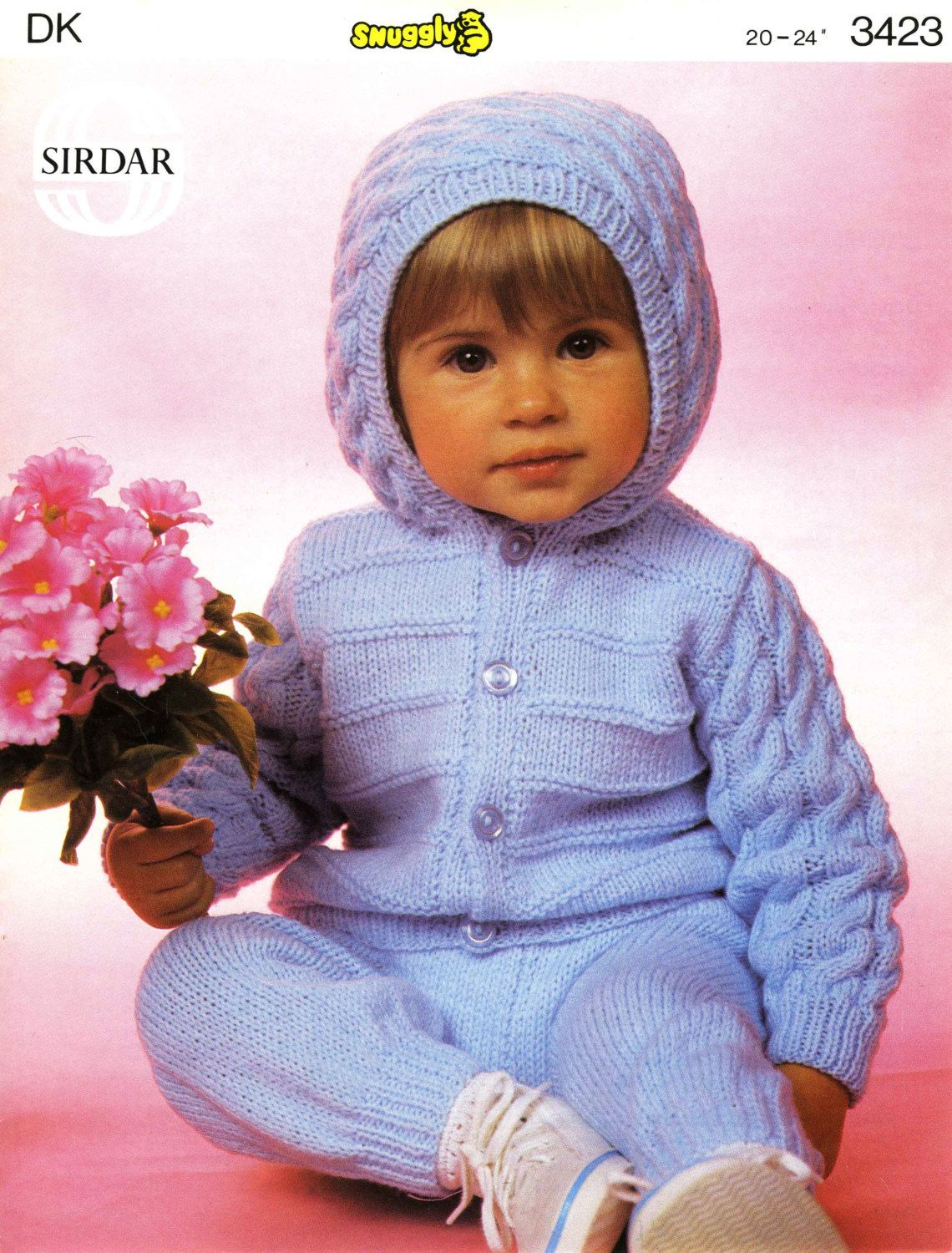 Vintage Childrens Jacket And Trousers Knitting Pattern
