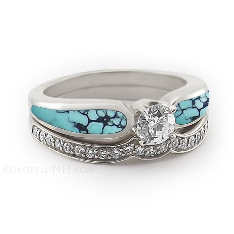 engagement impossibly juliegerstein turquoise ring youll silver to beautiful water you pearl rings alternative ll this sub buzz w want