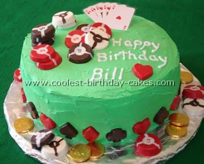 Coolest Las Vegas Cakes Cake Poker cake and Cake cookies