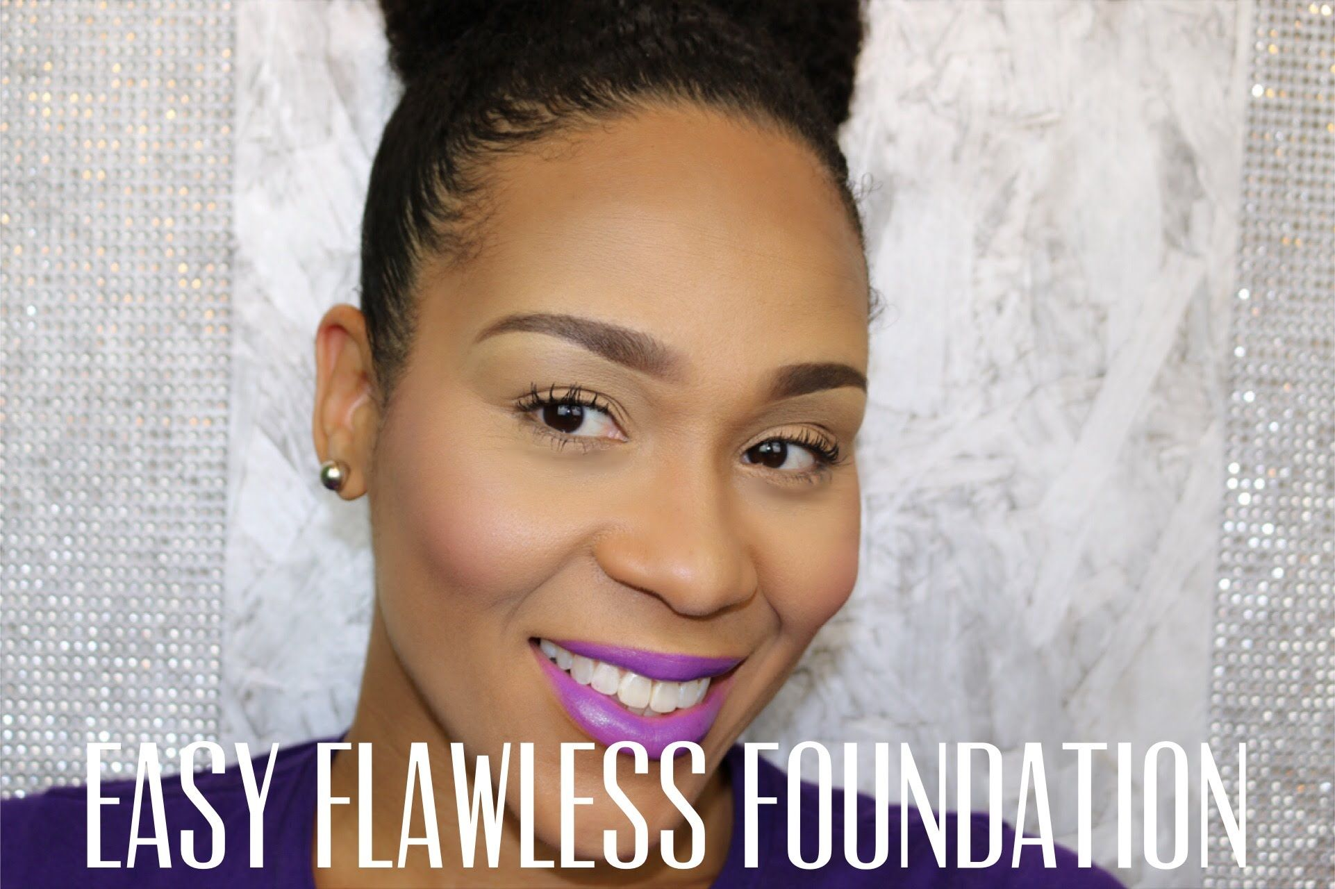 Easy Flawless Foundation Using Drug Store Makeup  Makeup Looks