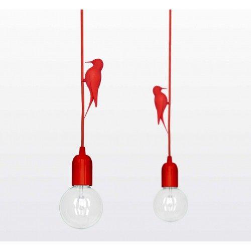 Leti lamp rood
