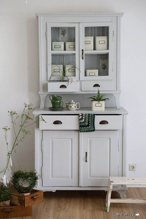 Antiker Küchenschrank, Buffet Möbel Pinterest - tür für küchenschrank