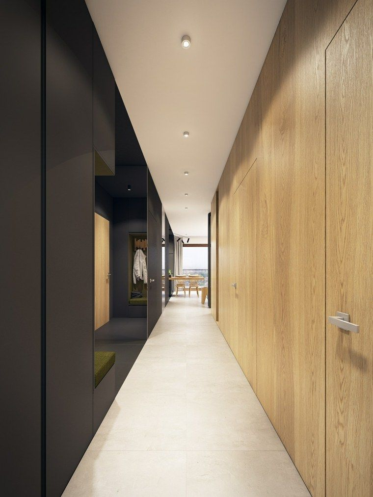 Couleur turquoise  un appartement aux accents en turquoise - idee couleur couloir entree